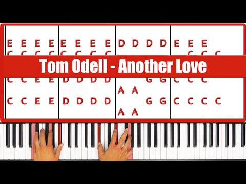 Another Love Tom Odell Piano Tutorial - ORIGINAL