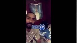 """– بالفيديو .. وليد عبدالله يبحث عن زمليه """" العويس """""""