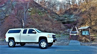 Truck Camping and Expl๐ring Indian Caves State Park - Nebraska