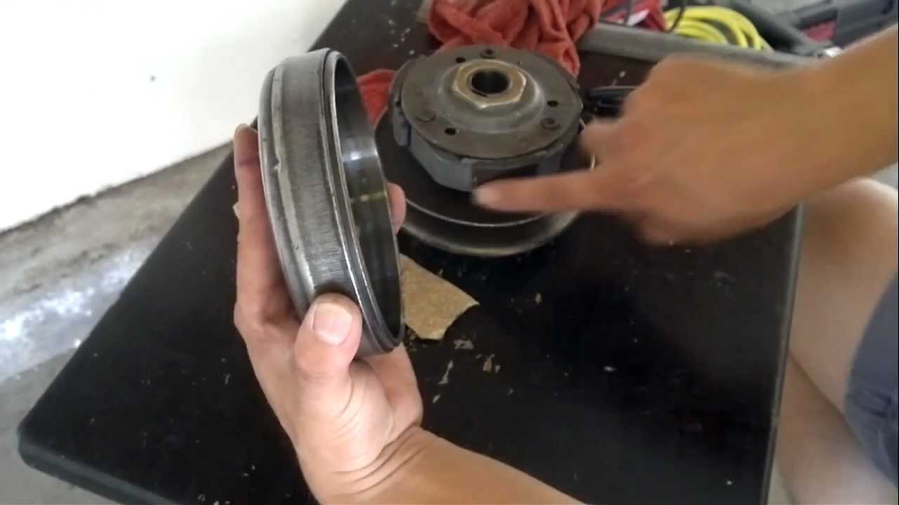medium resolution of gy6 scooter clutch slots