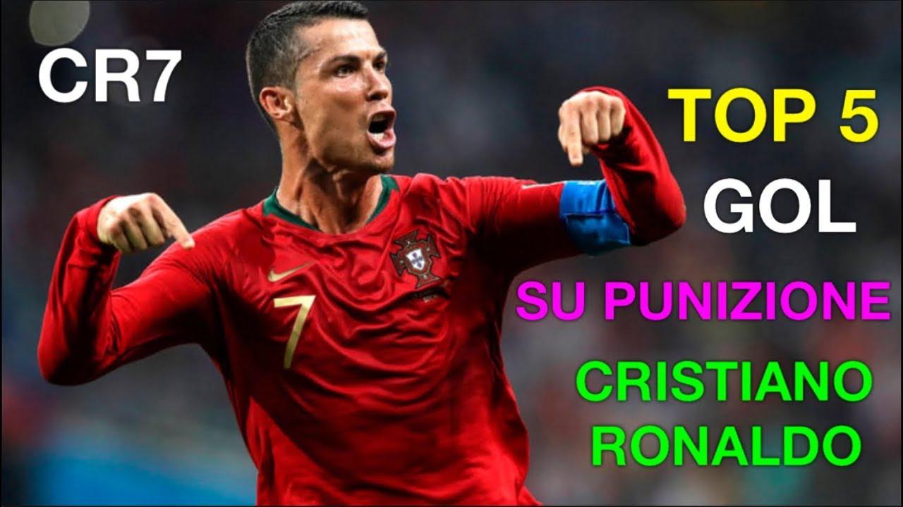 CR7 TOP 5 GOL SU PUNIZIONE DI CRISTIANO RONALDO