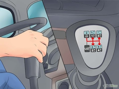 How to: shift 10 speed Eaton Fuller
