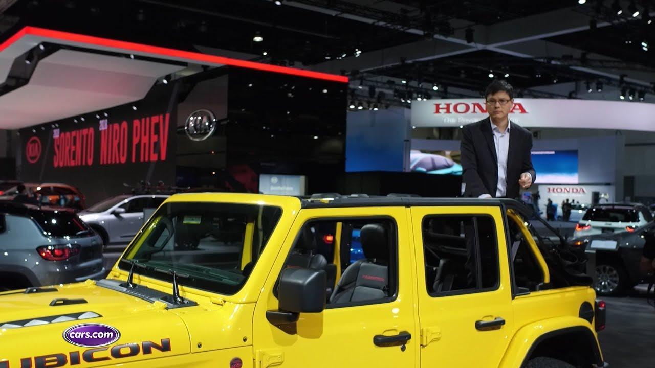 Jeep Wrangler Redesigned But Still Rugged Carscom YouTube - Auto hona