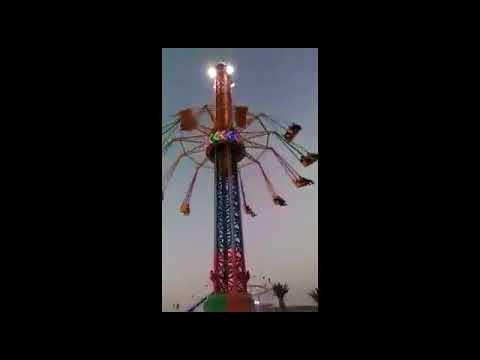 Carousel falls down at amusement park in Palesitinian city of Ramallah
