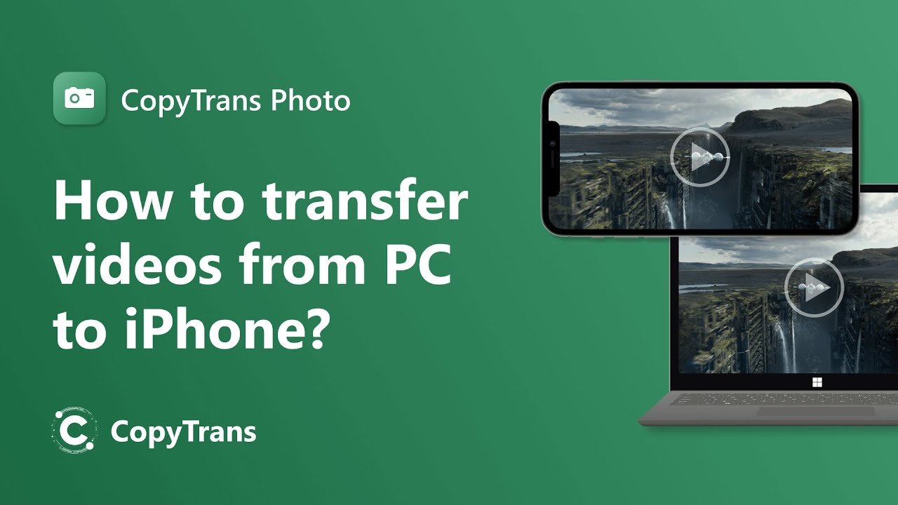 How to transfer videos from PC to iPhone or iPad without iTunes?