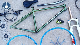 Nostalgia | Bike Restoration Build | 1994 Kona Explosif