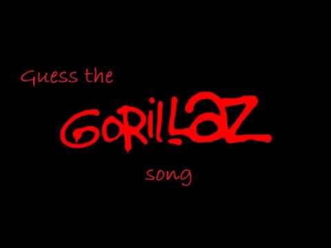 Guess the gorillaz song