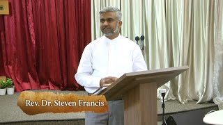 God Needs You - Good Friday Message - Ps Steven Francis