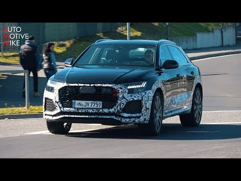 2020 AUDI RS Q8 SPIED TESTING AT THE NÜRBURGRING