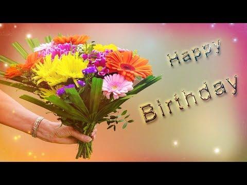 Alles Gute zum Geburtstag - Happy Birthday / Geburtstagslied