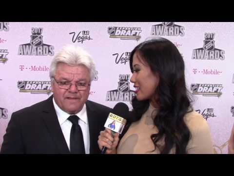 NHL AWARDS: HOCKEY LEGEND MARCEL DIONNE TALKS VEGAS GOLDEN KNIGHTS
