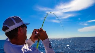 BIGGEST FISH on smallest rod!!! 900 feet deep!!! {Catch Clean Cook} Slow Pitch Jigging