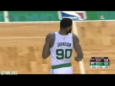 "Amir ""Big Dog"" Johnson Highlights vs Miami Heat (14 pts, 7 reb, 5 ast)"