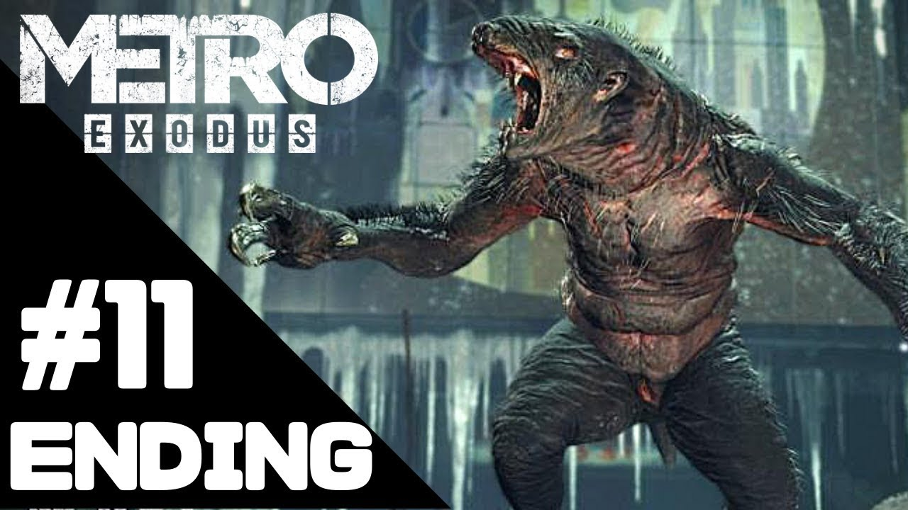 Metro Exodus Walkthrough Gameplay/Ending – PS4 PRO 1080p Full HD – No Commentary