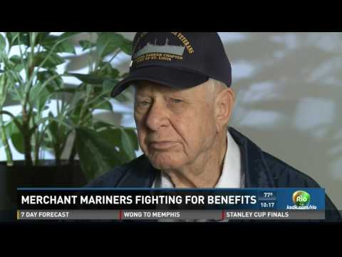 World War II Merchant Mariners fighting for equal benefits
