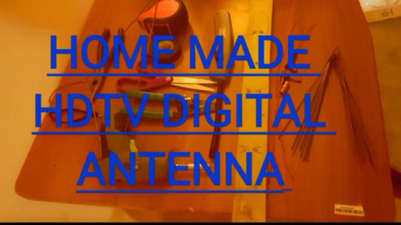 how to make a digital antenna youtube