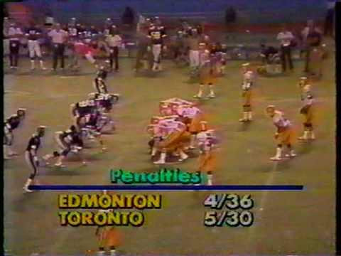 CFL 1982: Edmonton at Toronto (part 6)