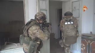 Видео спецоперации в Дагестане, в ходе которой был уничтожен боевик ИГ