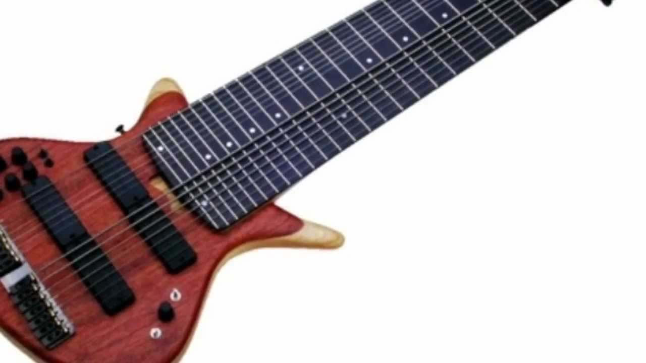 12 string bass guitar what they use for youtube