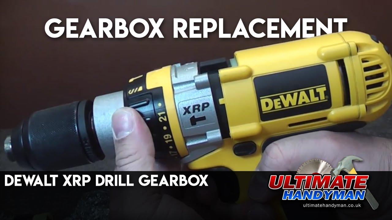 medium resolution of dewalt xrp drill gearbox