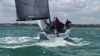 Aberdeen Asset Management 2014/15 Farr 40 Victorian State Title/Day 1 video