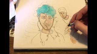 How to draw Joey