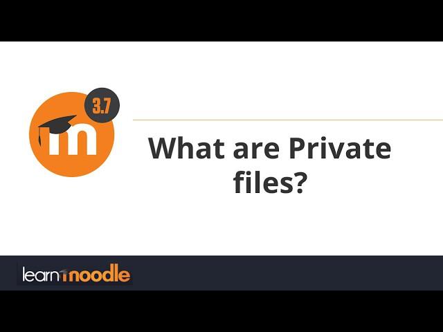 3.7 Private files