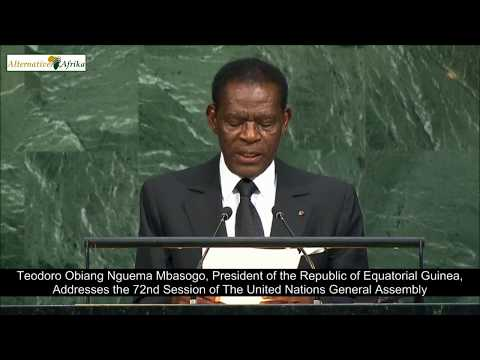 Equatorial Guinea - President Addresses the 72nd Session of the United Nations General Assembly