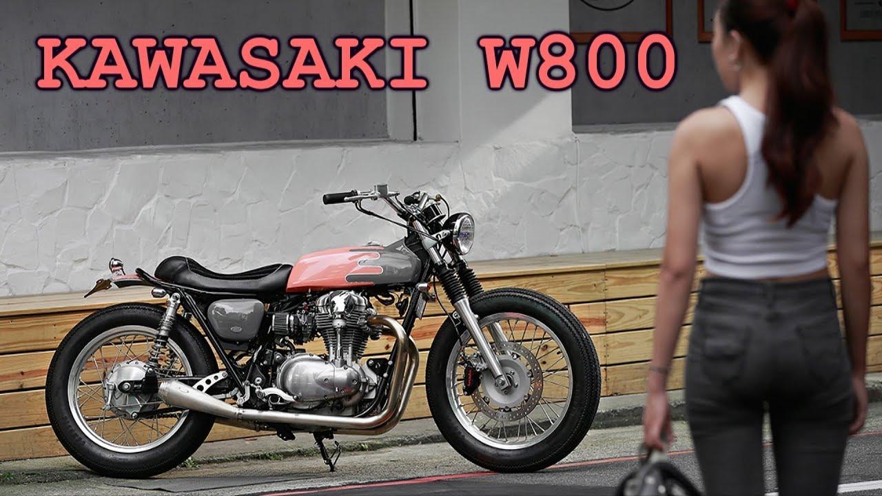 Kawasaki W800 Custom Youtube