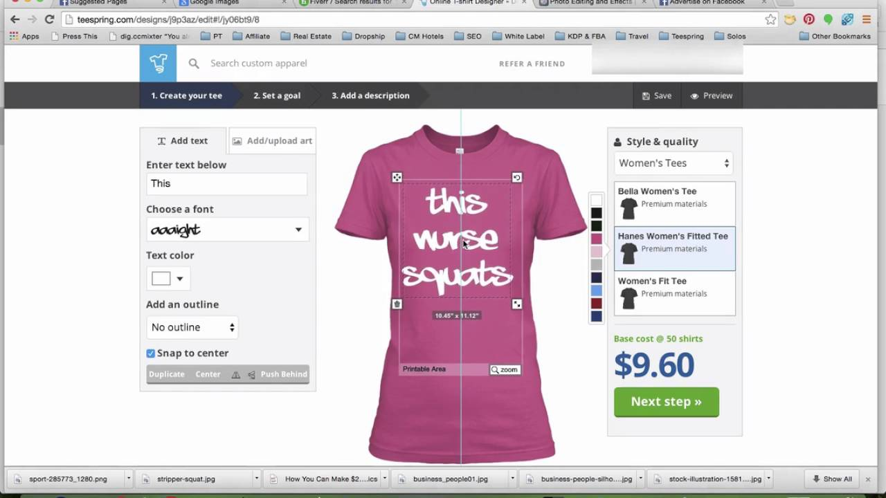 Shirt design editor - 10 Diy Design With Teespring Shirt Editor