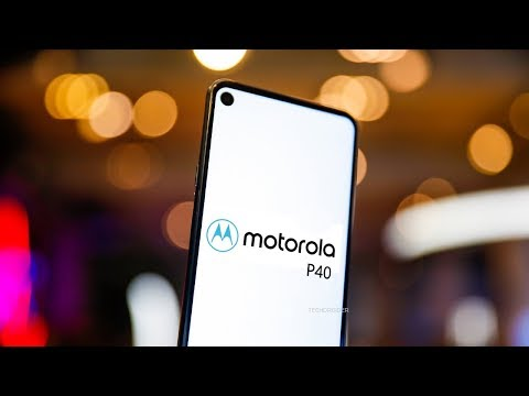 Motorola P40 with INFINITY O - FIRST LOOK!