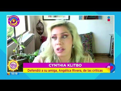 ¿Qué opina Cynthia Klitbo del posible regreso de Angélica Rivera a la televisión? | Sale el Sol