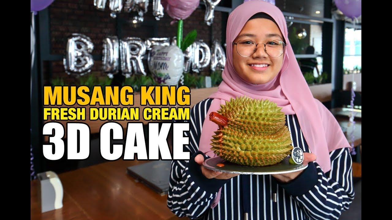 Durian Cake Moonlight Cake House Youtube