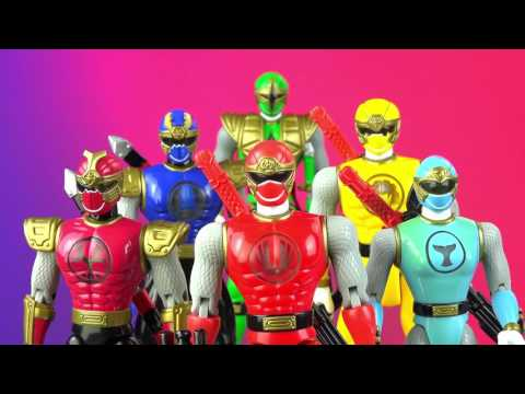 Power Rangers Ninja Storm on DVD! (Ninja Storm Hurricaneger Toy Review!)