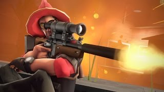 The EXPLOSIVE Sniper Rifle! TF2 Custom Weapons GameMode!