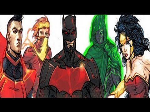 DC New 52 Justice League 3000