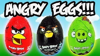 Angry birds movie - more funny than flappy bird - Epic Surprise Eggs!!! #angrybirds