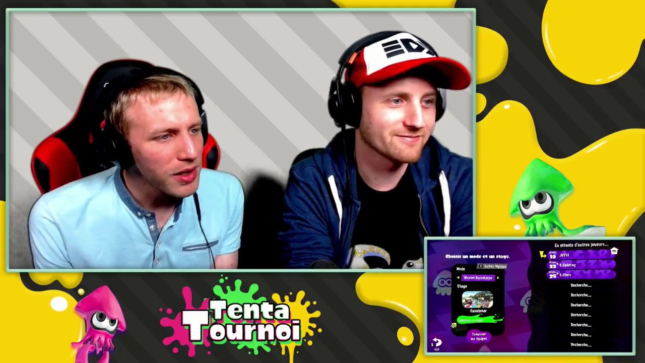 Splatoon 2 - Finale TentaTournoi #1 (Nintendo Switch)