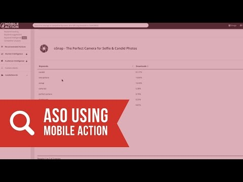 App Store Optimization: How to Use Mobile Action (ASO)