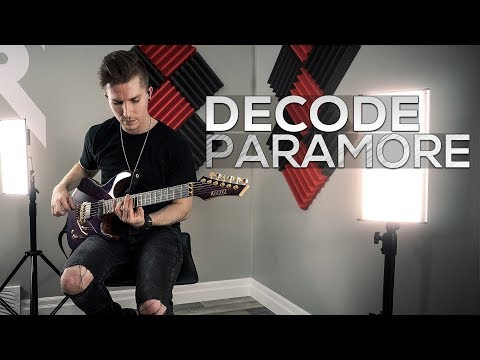Paramore - Decode - Cole Rolland (Guitar Cover)