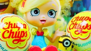 Minionki & Shopkins & Chupa Chups | Gru, Dru i Minionki | Bajki dla dzieci i unboxing