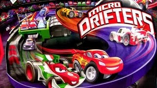 Micro Drifters Motorized Super Speedway Track Playset CARS 2 Disney Motorzooma Rennbahn