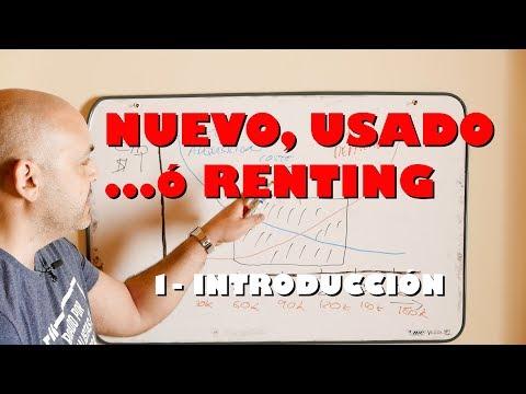NUEVO, USADO O RENTING (I): Tiempos y valores de un coche (introducción)