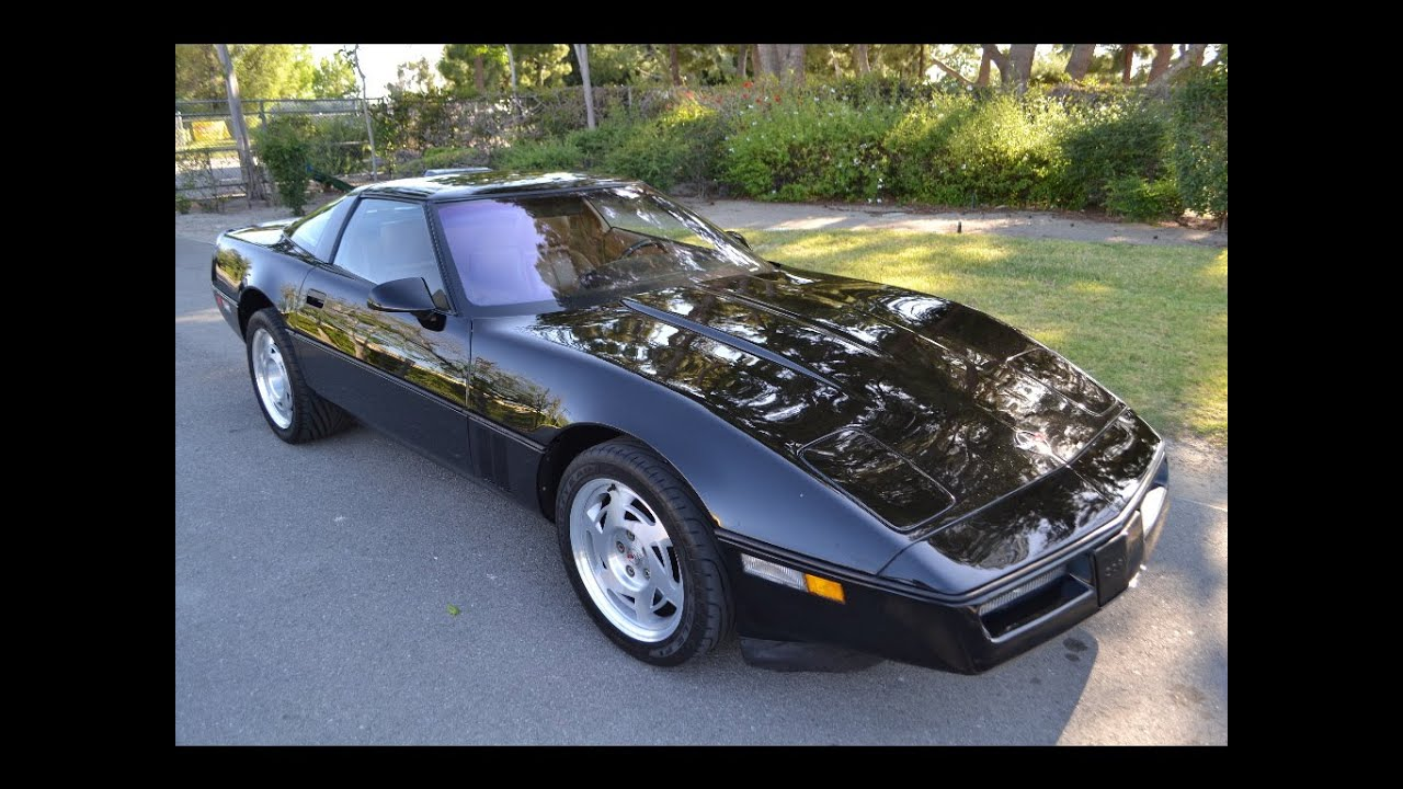 sold 1990 chevrolet corvette zr 1 coupe black for sale by. Black Bedroom Furniture Sets. Home Design Ideas