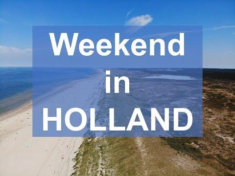 DRONE weekend in HOLLAND: Amsterdam, Alkmar, Bergen aan Zee