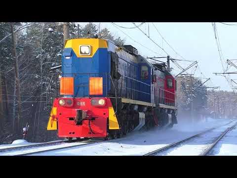 ТЭМ18Д-064/ТЭМ18ДМ-353 следуют в сплотке
