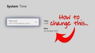 Xbox change how to date one time and Changing Xbox