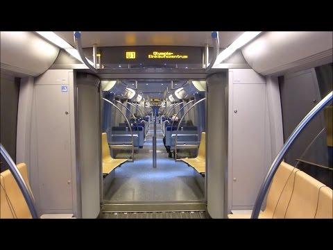 U-Bahn München - Zug vom Typ C auf der U1 [HD]