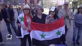 Syrische Frauen gegen Krieg - #Aufstehen für Frieden in Syrien - Kundgebung 17.9. in Berlin