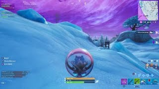 Fortnite: Accidently Glitched under Polar Peaks, Never guess whats under there!!!